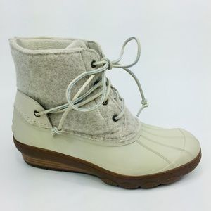 Sperry Top-Sider Rain Duck Rubber Wool Boots